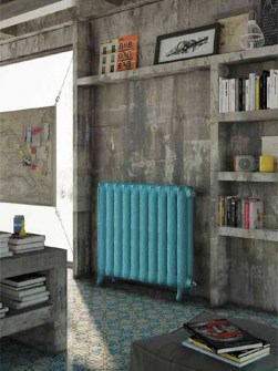 farget-støpejern radiatorer