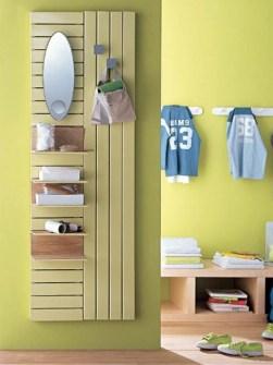 radiadores, radiadores de pasillo armario
