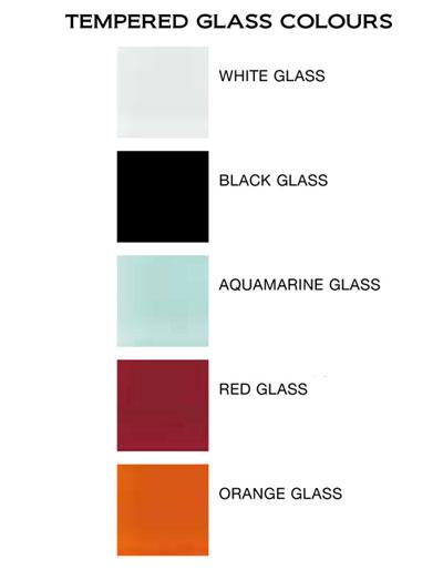 sen radiátory sklenené farby M