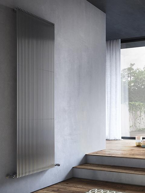 radiadores cromados, radiadores verticais cromados, radiadores de aquecimento central cromados, radiadores verticais