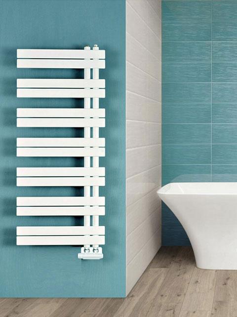 radiadores de banheiro, radiador assimétrico, radiador de toalha, aquecedor de banheiro