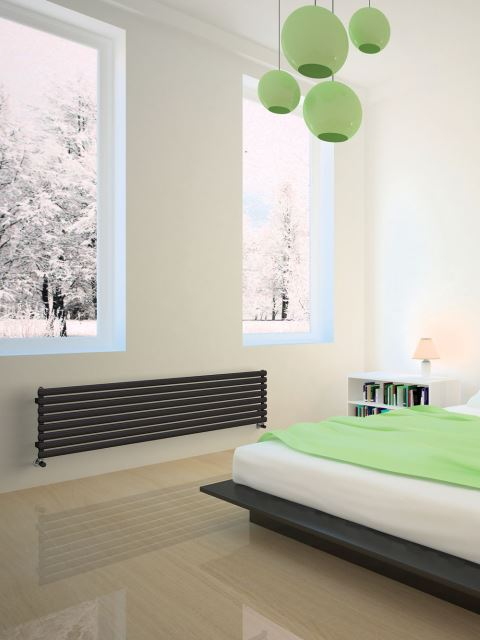 design radiators, central heating radiators, tubular radiators, horizontal radiators
