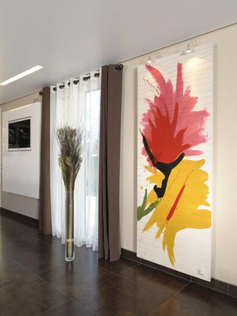 radiadores de arte, radiadores artísticos, radiadores exclusivos, radiadores coloridos