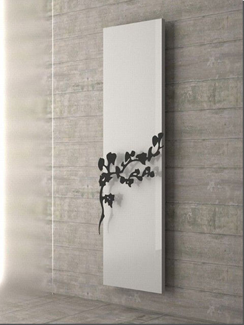 modern radiators, vertical radiators, aluminium radiator, living room radiators