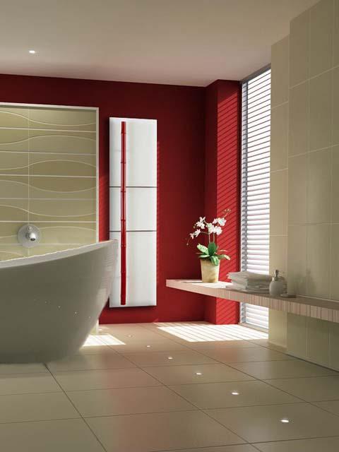 radiador vermelho do banheiro, radiador de pedra, radiador exclusivo, radiador luxuoso do banheiro