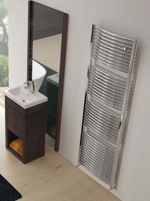 chrome radiators, chrome bathroom radiator