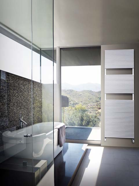 aluminium bathroom radiators, grey radiators, aluminium towel radiators, bathroom radiator