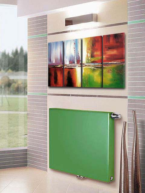 green radiators, flat panel radiators, designer radiators