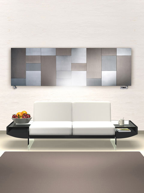 modern radiators, horizontal radiators, aluminium radiators, decorative radiators