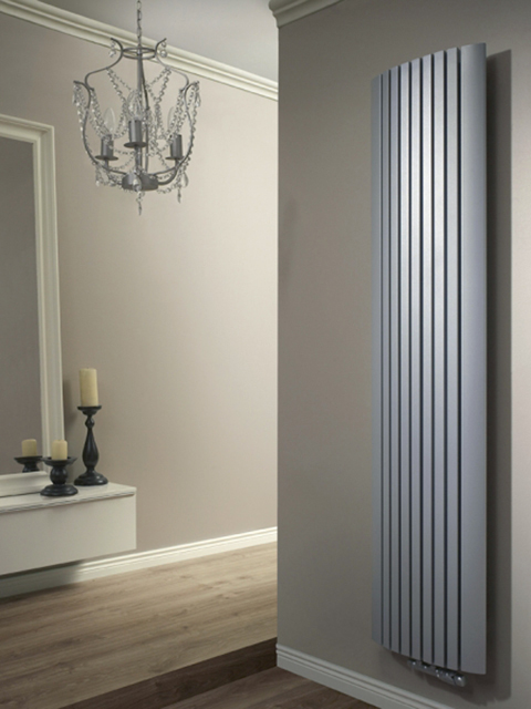 vertical radiators, room radiators,  wall radiators, grey radiators
