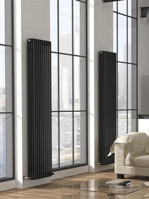 kolomradiatoren, buisvormige radiatoren, thuis radiatoren