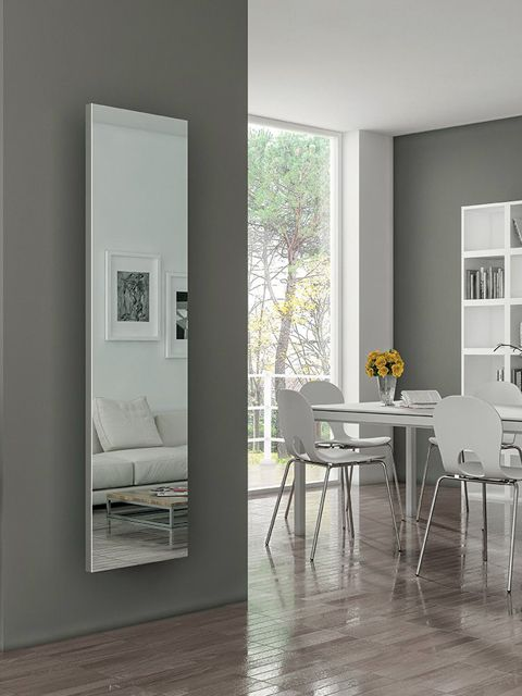 Real mirror radiator radiators with mirror online for Mirror radiator