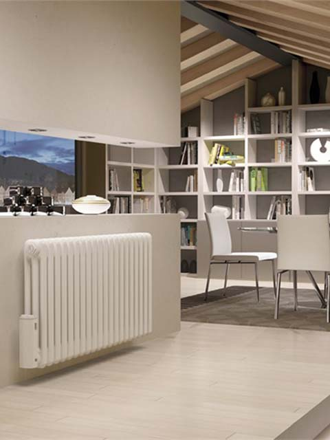 radiadores elétricos, radiadores de coluna, radiadores brancos, radiadores de coluna tradicional
