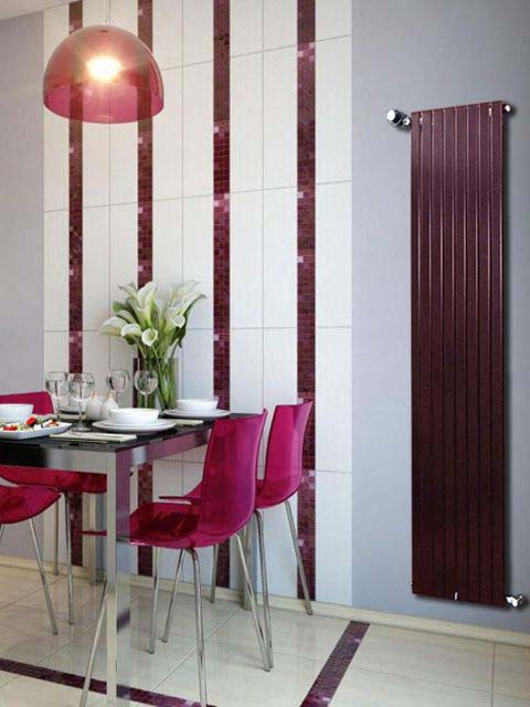 vertical radiators, claret radiators, wardrobe radiators, coat rack radiators