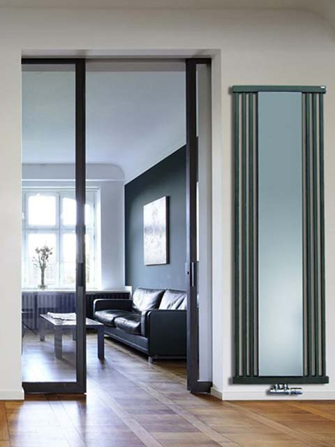 mirror radiators, coat rack radiators, anthracite radiators, radiator with mirror