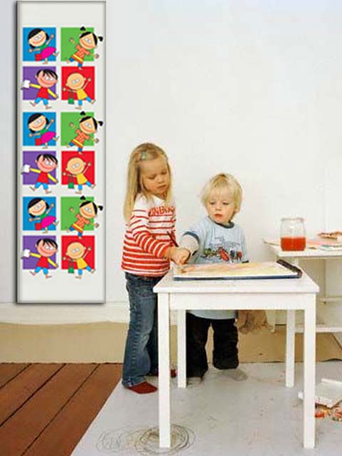 childrens room radiator, radiator with photo