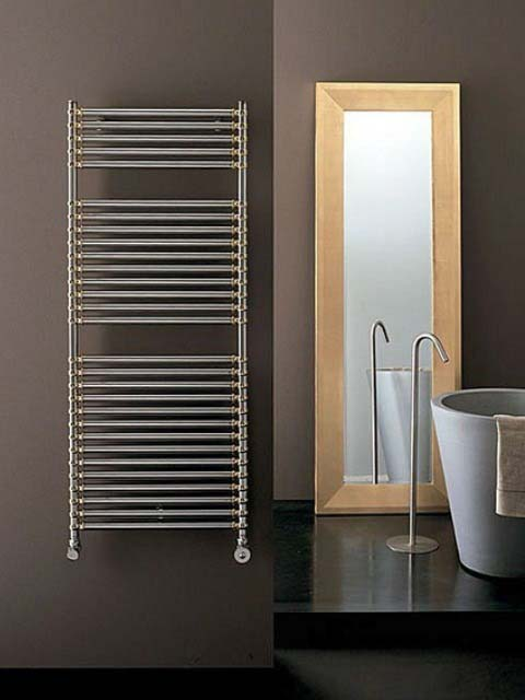 chrome radiators, bathroom radiator chrome,
