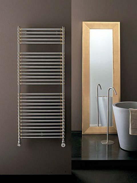 radiadores de cromo, radiador de baño cromado, radiador de toalla decorativo