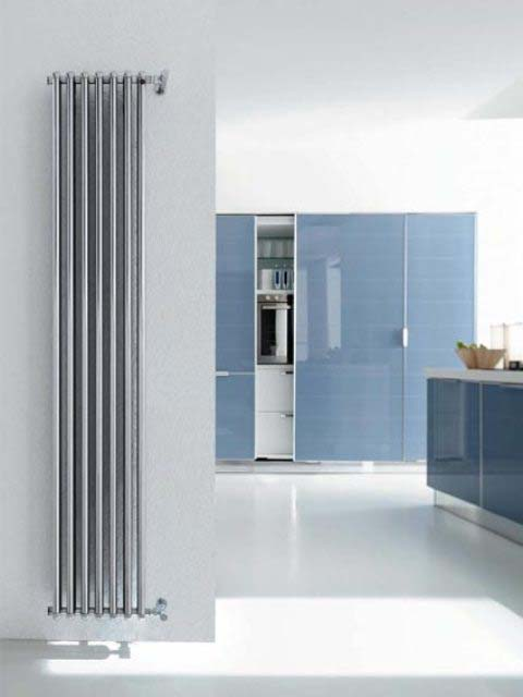 chrome radiators, tubular radiators, column radiators