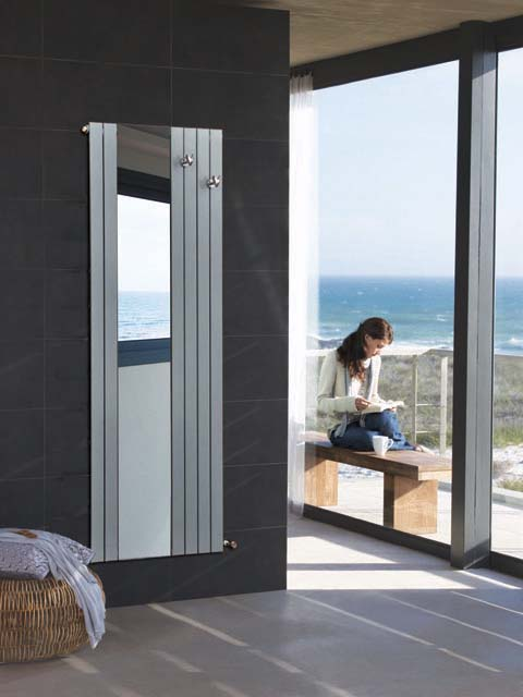 wardrobe radiators, mirror radiators, hallway radiators