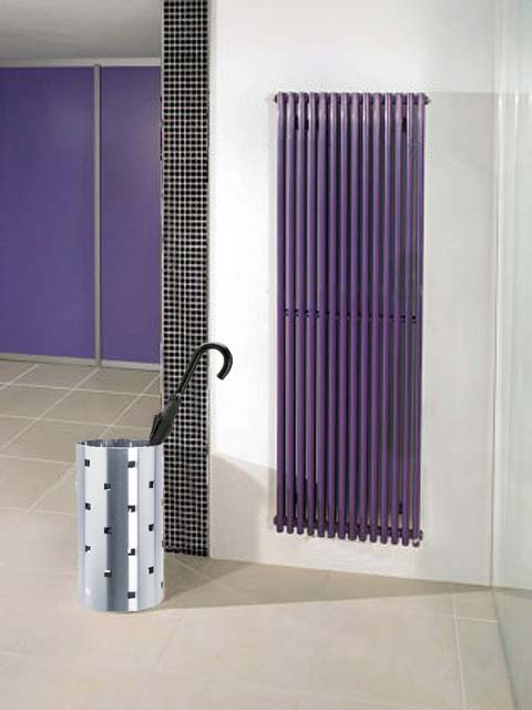 tubular radiator, purple radiators, double radiators, vertical radiators