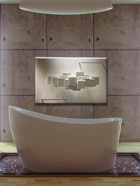 exkluzivní koupelnový radiátor, kamenný radiátor, radiátory pro kosmetické barvy, designový radiátor