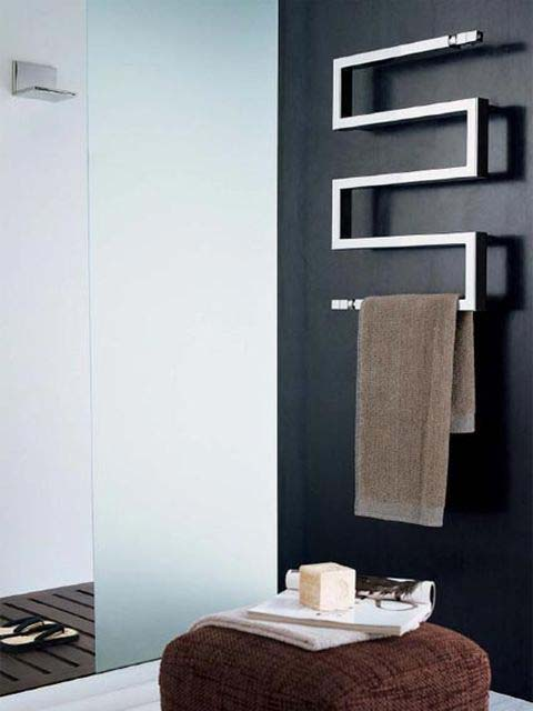 stainless steel radiator, exclusive radiators, bathroom