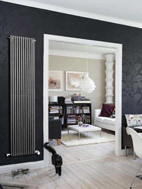 carlos vertical radiateur radiateurs de grande taille conception radiateurs en ligne. Black Bedroom Furniture Sets. Home Design Ideas