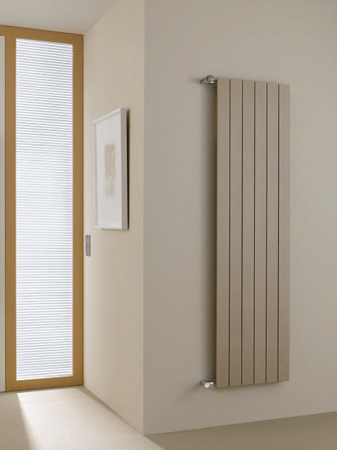 Vertical radiator, tubular radiator, budget radiator, radiators, orange radiator