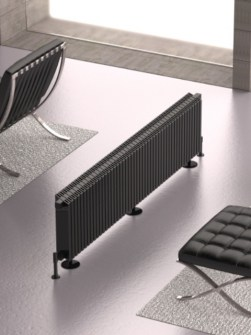 aluminium radiators, vertical radiator, hight output radiators, room divider radiator