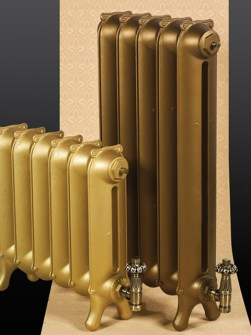 traditional radiators, period radiators, classic radiators, cast iron radiator, coloured radiators
