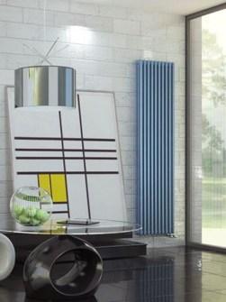 šedé radiátory, antracitové radiátory, vysoké radiátory