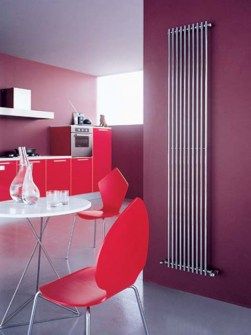 tubular radiator, coloured radiators, vertical radiators
