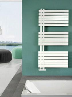 badkamerradiator, asymmetrische radiator, handdoekradiatoren, elektrische badkamerverwarming