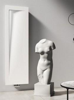 neviden radiator, radiator z ledom, oblikovalski radiatorji, elegantni radiatorji