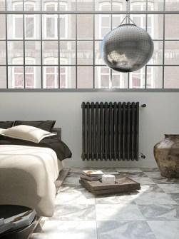 radiateurs à colonne, radiateurs design, radiateurs à haut rendement, radiateurs colorés, radiateurs rouges
