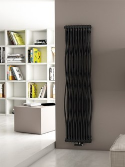 tubular radiator, modern radiators, funky radiators, exclusive radiator