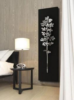 dekorativní radiátory, vertikální chladič, hliníkový radiátor, moderní hliníkové radiátory