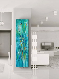 art radiators, radiators pictures, painted radiators, designer radiators, exclusive radiators