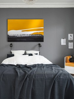 radiátor-umělecký-západ slunce
