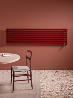radiadores de design, radiadores de aquecimento central, radiadores tubulares, radiadores horizontais