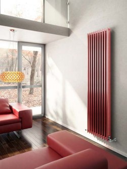 aluminium radiator, tall radiators, aluminium radiators, red radiator