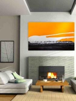 radiatorer-art-solnedgang