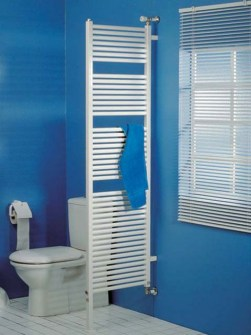 dual fuel towel radiators, room divider radiators, bathroom radiator, coloured radiator