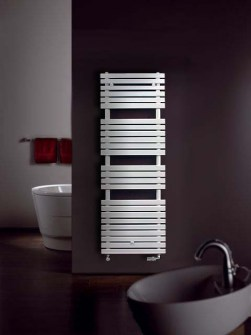 coloured bathroom radiators, heated towel rail,