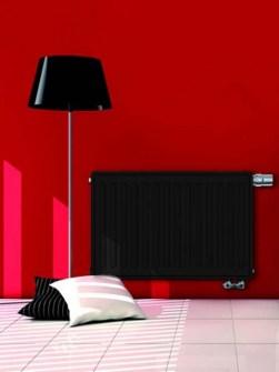 radiatoriai, aukštos šilumos galia radiatoriai, horizontalios radiatoriai, kompaktiški radiatoriai,
