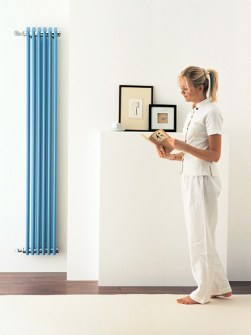 tubular radiators, design radiators, vertical radiators