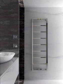 радіатор декоративної ванної кімнати, радіатор класу люкс, дизайн-радіатор, радіатор з хромованим рушником