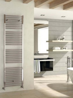 chrome bathroom radiators, Italian towel radiators, chrome towel warmers