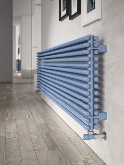 living room radiator, horizontal radiators, coloured radiators